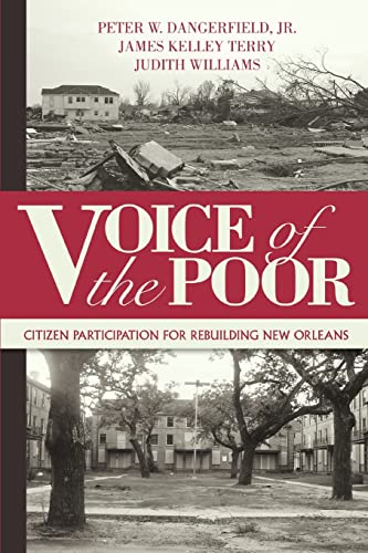 9780595400645: Voice of the Poor: Citizen Participation for Rebuilding New Orleans