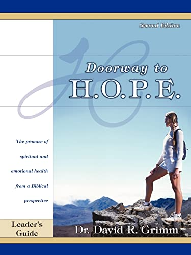 Doorway to H.O.P.E. Leader's Guide: Dr. David Grimm