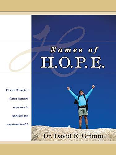 Names of H.O.P.E.: Dr. David Grimm