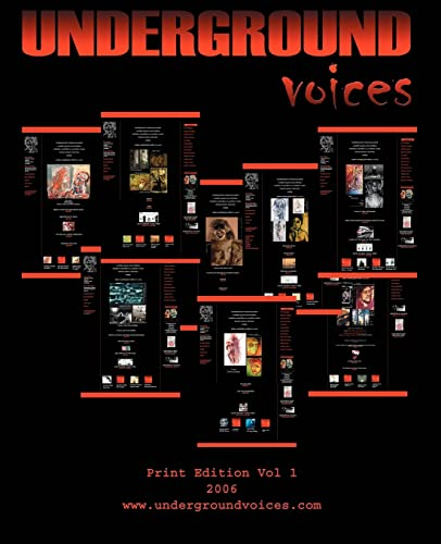 9780595415717: Underground Voices: Print Edition Vol 1 2006