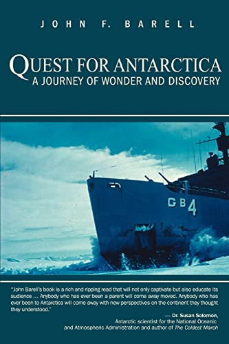 9780595426263: Quest for Antarctica: A Journey of Wonder and Discovery