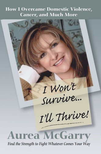 9780595453696: I Won't Survive ... I'll Thrive!: How I Overcame Domestic Violence, Cancer, and Much More