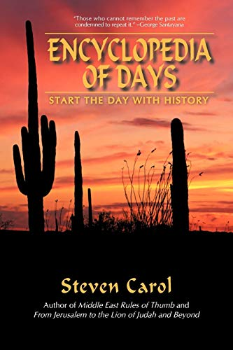 9780595482368: Encyclopedia of Days: Start the Day With History