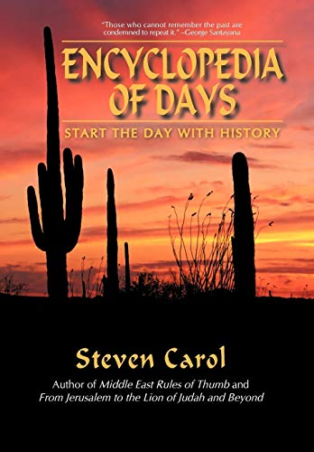 9780595504701: Encyclopedia of Days: Start the Day With History