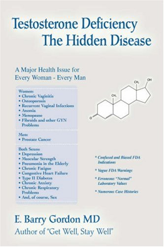 9780595679140: Testosterone Deficiency: The Hidden Disease: A major Health Issue for Every Woman - Every Man