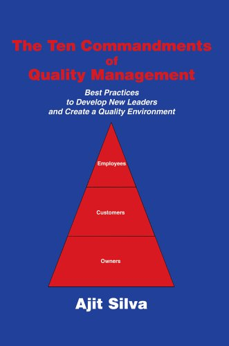 9780595806119: The Ten Commandments of Quality Management: Best Practices to Develop New Leaders and Create a Quality Environment