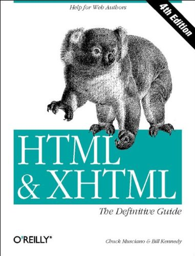 9780596000264: HTML & XHTML: The Definitive Guide