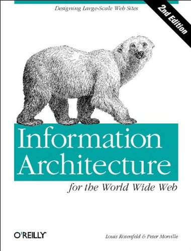 9780596000356: Information Architecture for the World Wide Web: Designing Large-Scale Web Sites