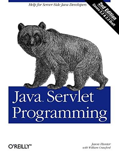 9780596000400: Java Servlet Programming