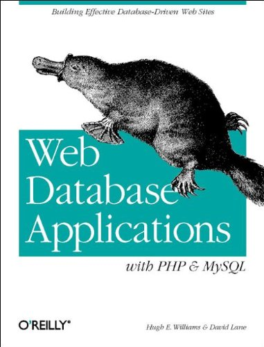 9780596000417: Web Database Applications with PHP & MySQL (en anglais)