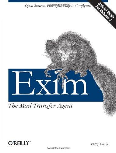 9780596000981: Exim: The Mail Transfer Agent