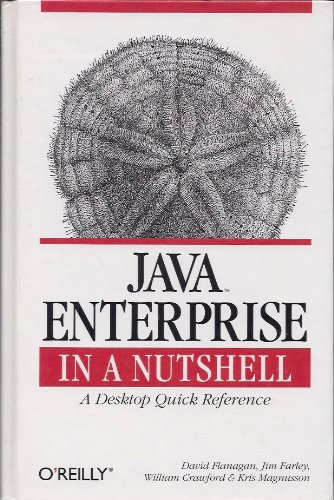 9780596001148: Java Enterprise in a Nutshell: A Desktop Quick Reference