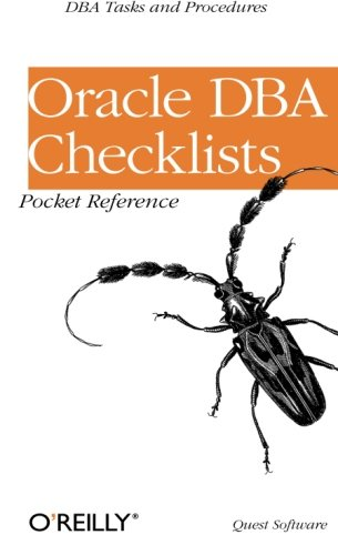 9780596001223: Oracle DBA Checklists Pocket Reference (Classique Us)
