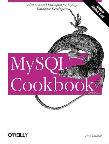 9780596001452: MySQL Cookbook