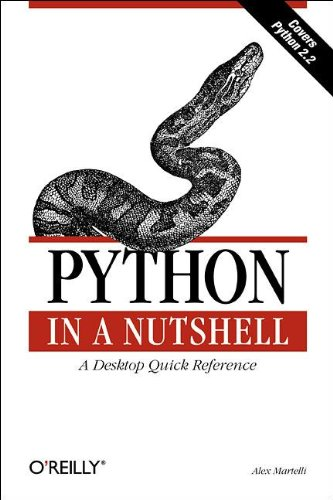 9780596001889: Python in a Nutshell