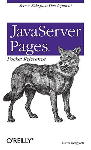 9780596002312: JavaServer Pages Pocket Reference