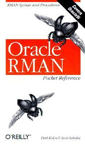 9780596002336: Oracle RMAN Pocket Reference