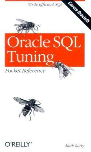 9780596002688: Oracle SQL Tuning Pocket Reference