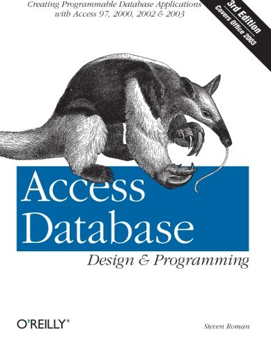 9780596002732: Access Database Design & Programming