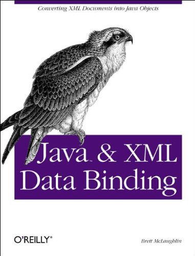 Java and XML Data binding (0596002785) by McLaughlin, Brett
