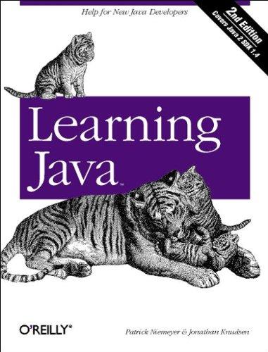 9780596002855: Learning Java