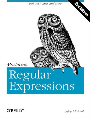 9780596002893: Mastering Regular Expressions, Second Edition