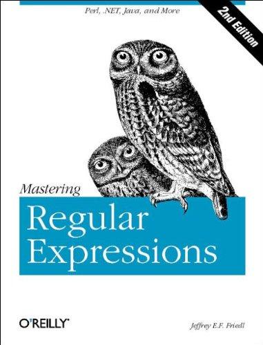 9780596002893: Mastering Regular Expressions