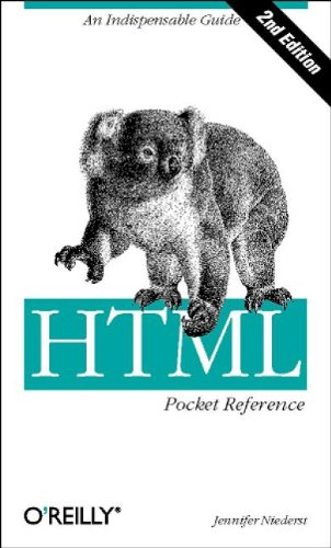 9780596002961: HTML Pocket Reference (2nd Edition)