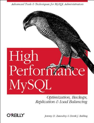 9780596003067: High Performance MySQL: Optimization, Backups, Replication, Load Balancing & More (Advanced Tools and Techniques for MySQL Administrators)