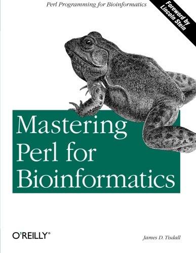 9780596003074: Mastering Perl for Bioinformatics (Classique Us)