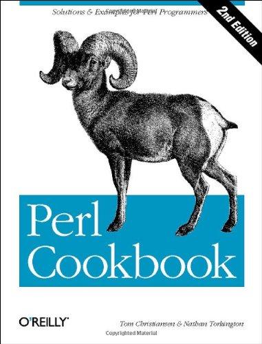 9780596003135: Perl Cookbook