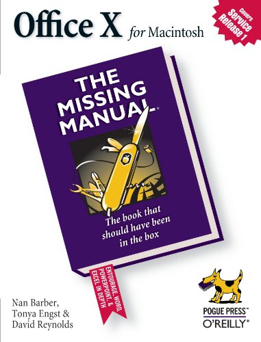 9780596003326: Office X for MacIntosh: The Missing Manual