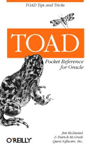 9780596003371: TOAD Pocket Reference for Oracle