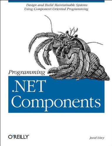9780596003470: Programming .Net Components