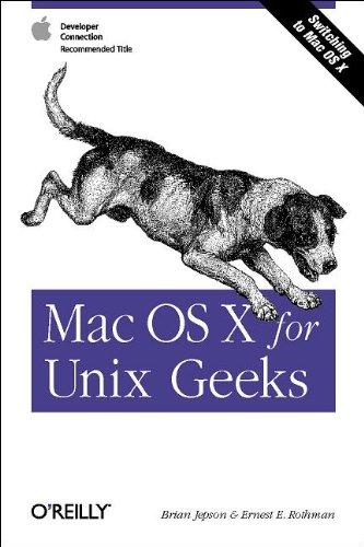 9780596003562: Mac OS X for Unix Geeks