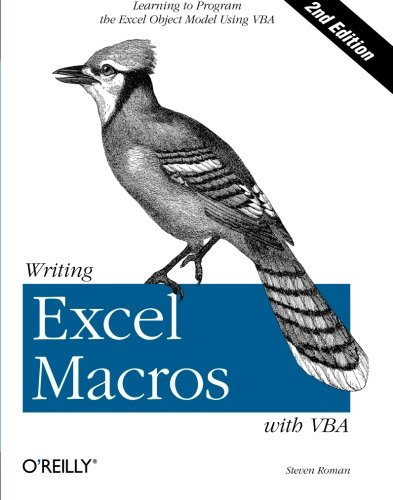 9780596003593: Writing Excel Macros with VBA