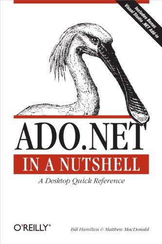 9780596003616: ADO.NET in a Nutshell