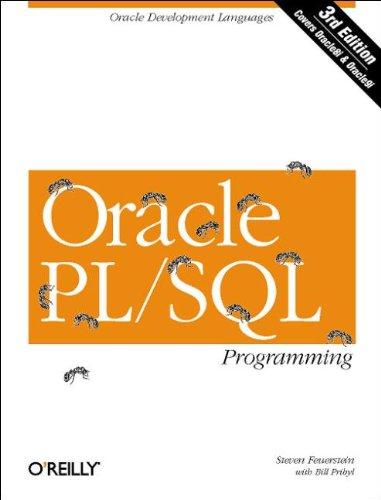 9780596003814: Oracle PL/SQL Programming, Third Edition