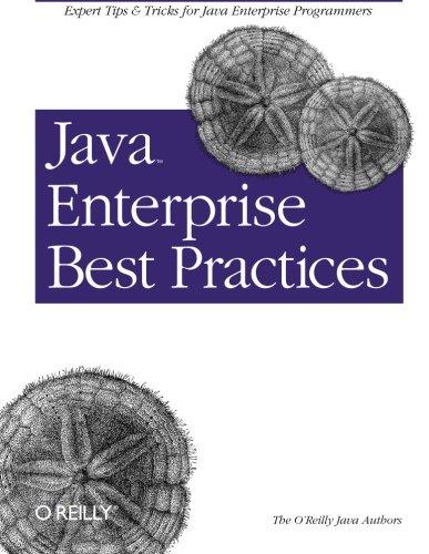 9780596003845: Java Enterprise Best Practices