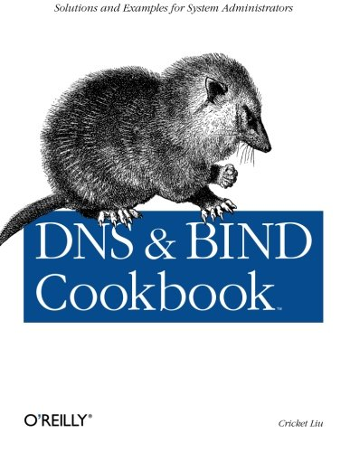 Stock image for DNS & BIND Cookbook for sale by Wonder Book