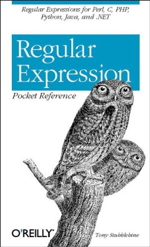 9780596004156: Regular Expression Pocket Reference