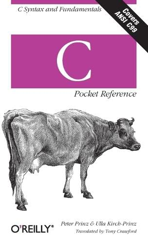 9780596004361: C Pocket Reference