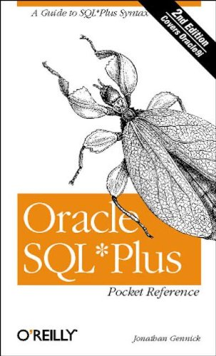 9780596004415: Oracle SQL*Plus Pocket Reference (2nd Edition)