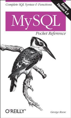 9780596004460: MySQL Pocket Reference