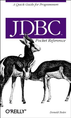 9780596004576: JDBC Pocket Reference