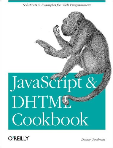 9780596004675: JavaScript & DHTML Cookbook: Solutions and Example for Web Programmers