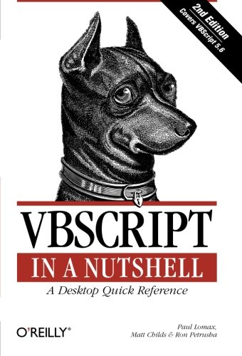 9780596004880: VBScript in a Nutshell: A Desktop Quick Reference