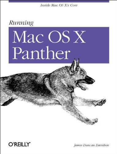 Running Mac OS X Panther: Davidson, James Duncan