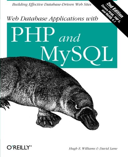 9780596005436: Web Database Applications with PHP & MySQL, 2nd Edition