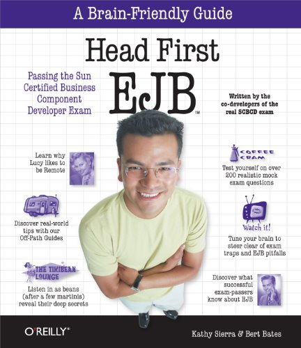 9780596005719: Head First EJB: Passing the Sun Certified Business Component Developer Exam